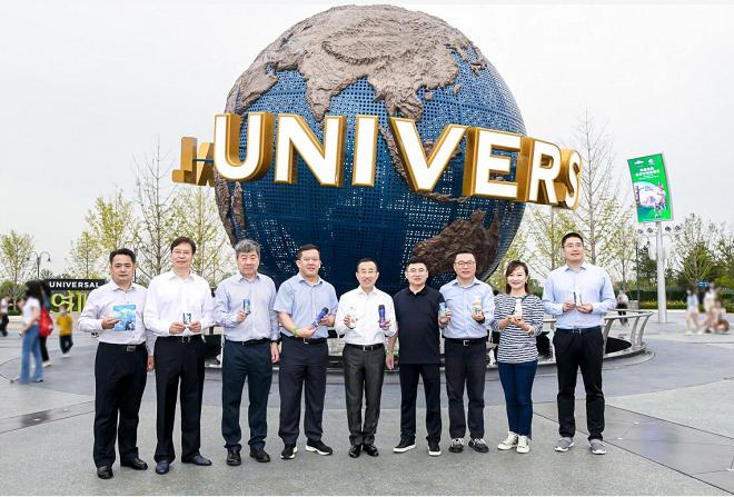 北京环球度假区蒙牛品牌日开启 20余款定制包装首亮相讲中国乳业故事