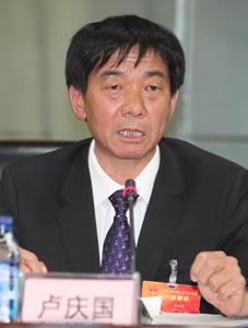 全国人大代表、晨光生物科技集团股份有限公司董事长卢庆国