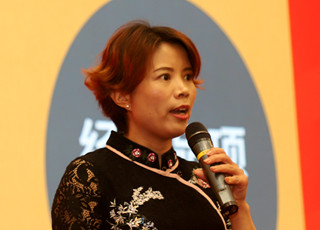 旺旺集团生产研发群总处长曹永梅
