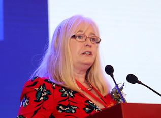 国际乳品联合会主席 Judith演讲