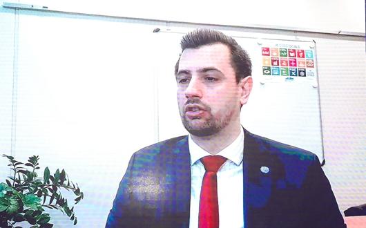 联合国工业发展组织(UNIDO)农商发展部可持续粮食系统司工业发展专家 Gabor Molnar_副本.jpg