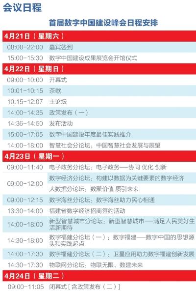首届数字中国建设峰会今日开幕(图)