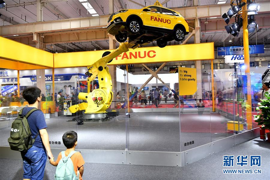外媒:2018世界机器人大会展现自动化的未来