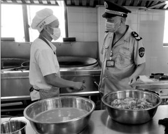 重庆涪陵区市场监管局开展校园餐饮食品安全专项检查