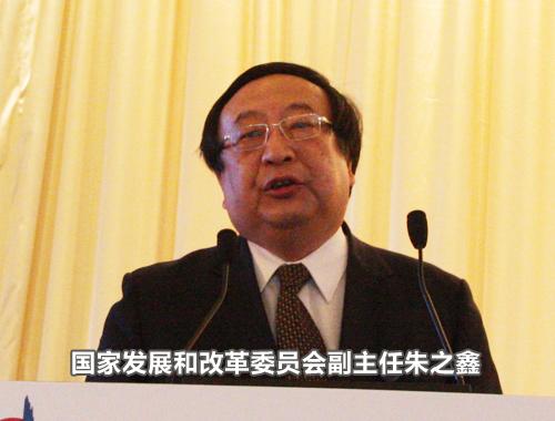 国家发展和改革委员会副主任朱之鑫
