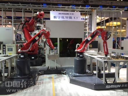 机器人惊艳亮相