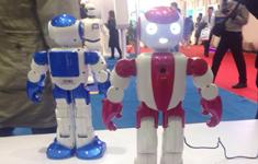 世界机器人博览会现场