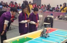 世界青少年机器人邀请赛比赛现场