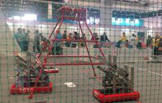 FRC机器人设计挑战赛现场