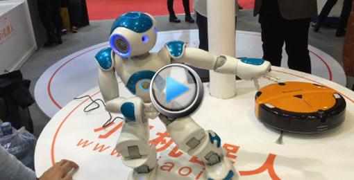 """[视频]机器人""""舞林大会""""谁称霸?"""