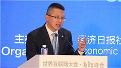 旺旺中时媒体集团总裁蔡绍中发表主旨演讲。_副本.jpg