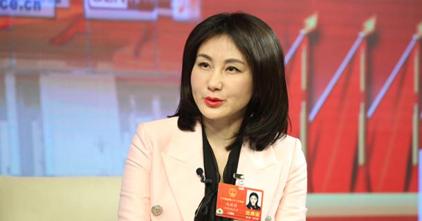 全国人大代表冯琪雅做客中国经济网