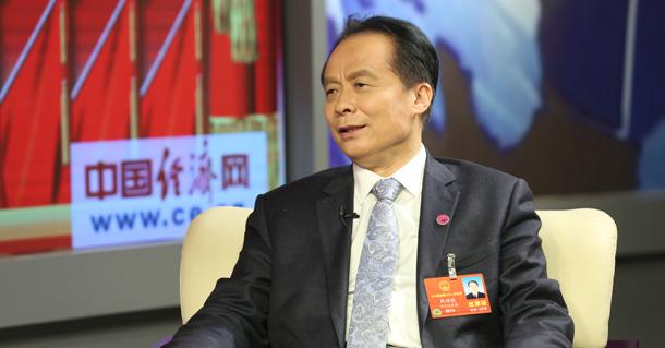 全国人大代表耿福能做客中国经济网