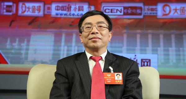 全国政协委员赖明勇做客中国经济网