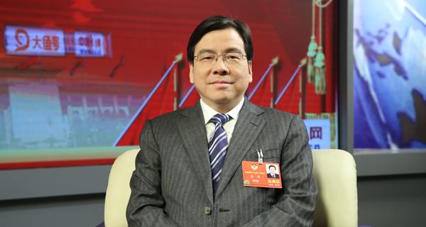 全国政协委员张健做客中国经济网