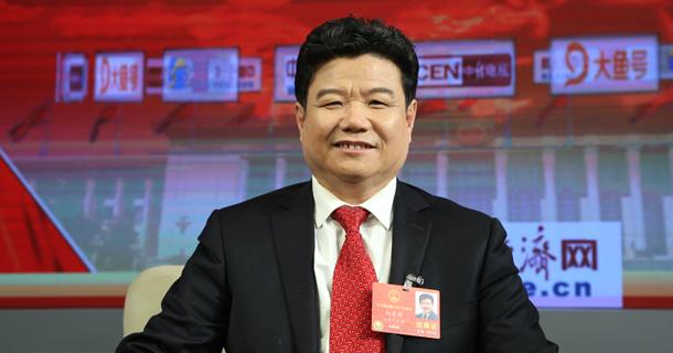 全国人大代表孙建博做客中国经济网