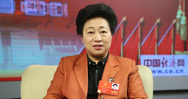 全国人大代表卓长立做客中国经济网