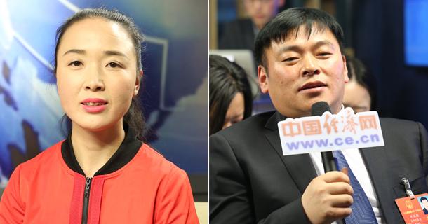 全国人大代表梁倩娟、巩保雄做客中国经济网