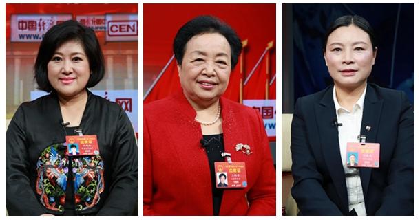 全国人大代表孙艳玲、王银香、陶勋花做客中国经济网