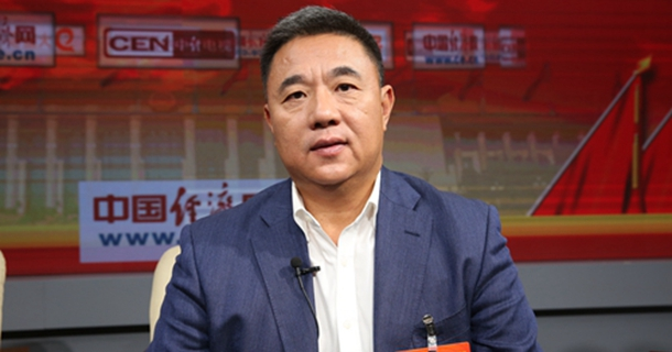 全国政协委员刘伟做客中国经济网