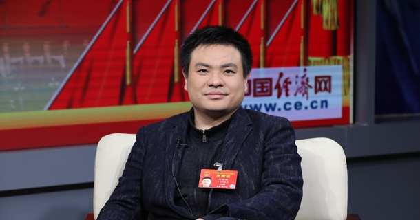 全国人大代表刘若鹏做客中国经济网
