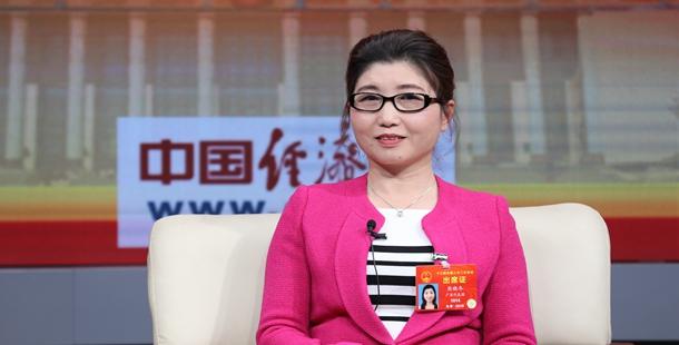 全国人大代表熊晓冬做客中国经济网