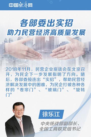 各部委出实招 助力民营经济高质量发展