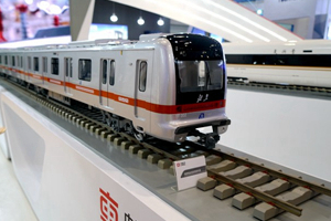 黄金赌城娱乐中车展台上的列车模型_副本.jpg