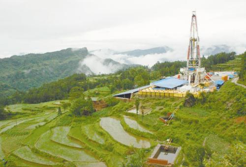 中国最大页岩气生产基地建成 全年产量将达42亿立方米