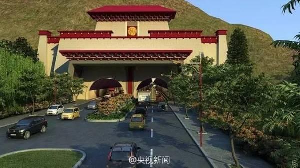中国又一超级工程!海拔最高环城路将建成(图)