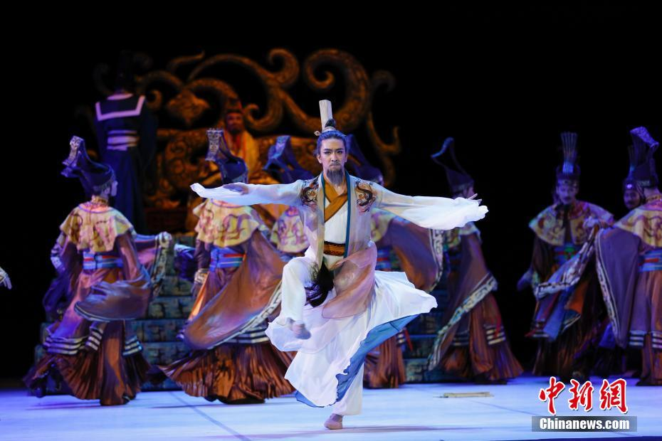 中国民族舞剧《孔子》在纽约上演