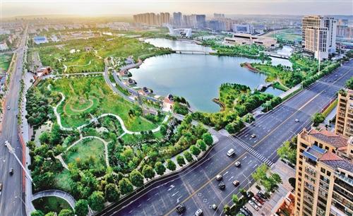 常德白马湖公园_湖南常德实施活水、净水、蓄水、排水、亲水五大工程_中国经济