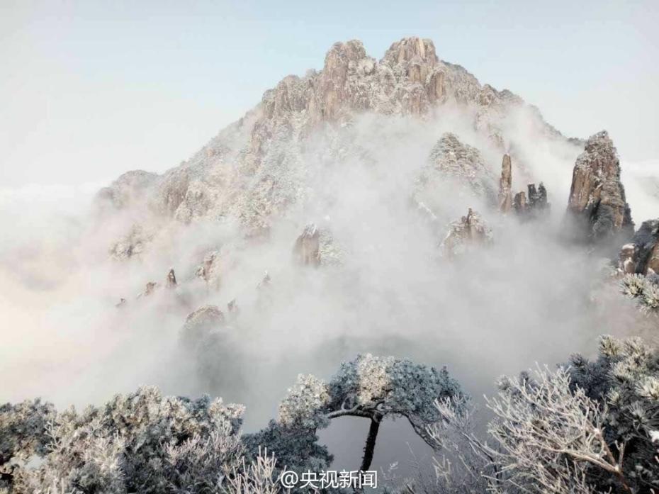 去江西三清山看醉人雪景