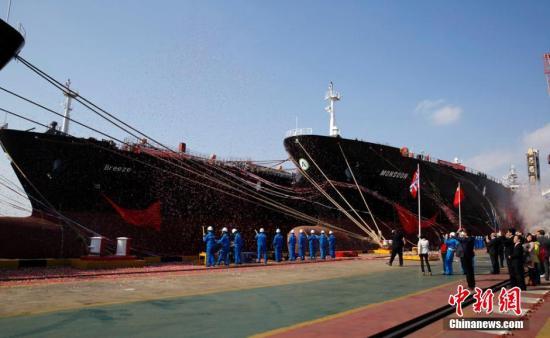 资料图 超大型全冷式液化石油气运输船 汤彦俊 摄