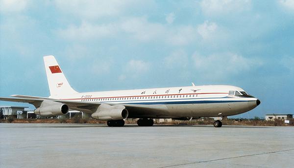 美国到中国飞机