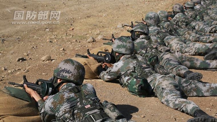 北京卫戍区某防化团第三次组队参加国际军事比赛