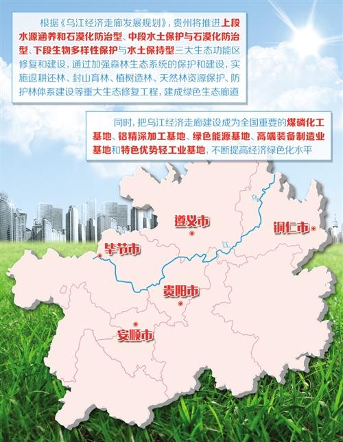 贵州发挥黄金水道综合效益 乌江经济走廊生态当先