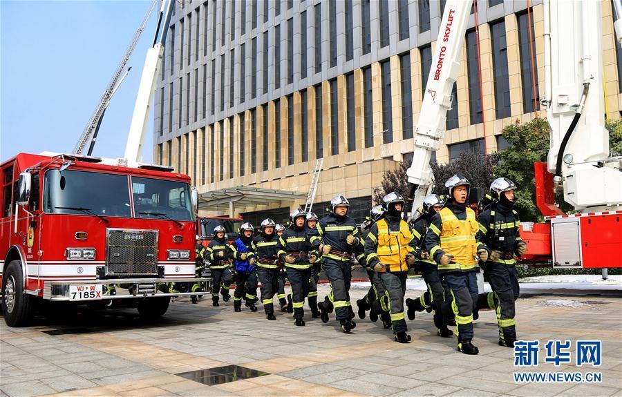 (社会)(1)高层防火 防患未然