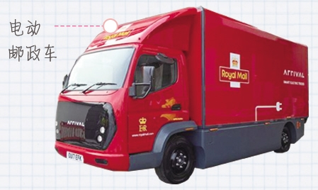 英国运行9辆纯电动邮政车 驾驶距离可达160公里