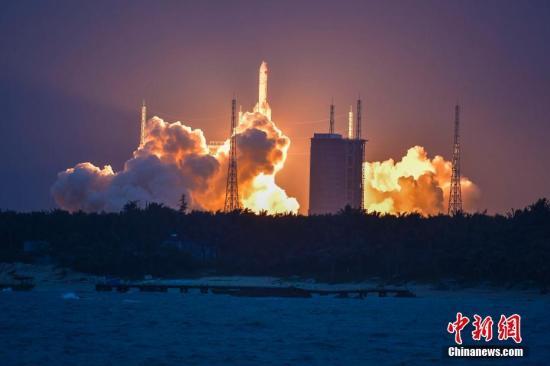 中国国家航天局:长征五号失败原因或于年底查清 将致探月任务推迟