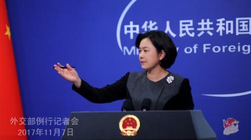 图片来自外交部网站