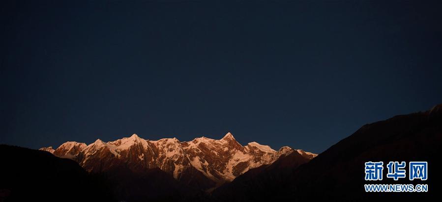 (美丽中国)(1)美丽的南迦巴瓦峰