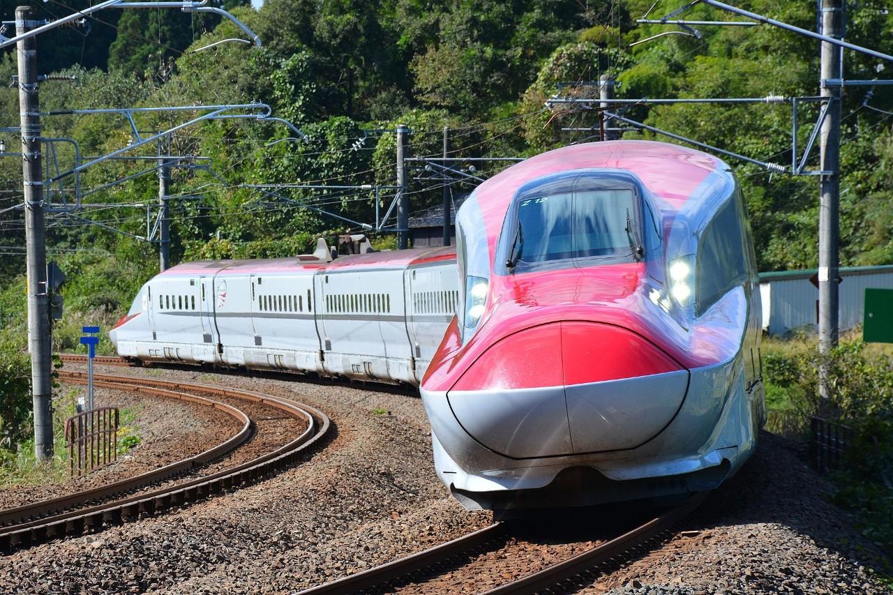 ▲秋田新干线列车