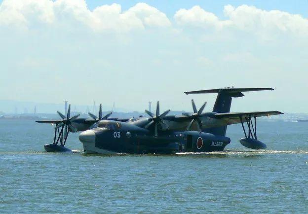 日本us-2水陆两栖飞机
