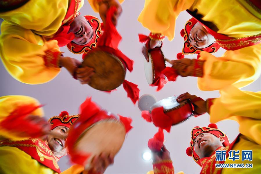 (文化)(1)山东商河鼓子秧歌将扭进瑞典欢乐闹春节