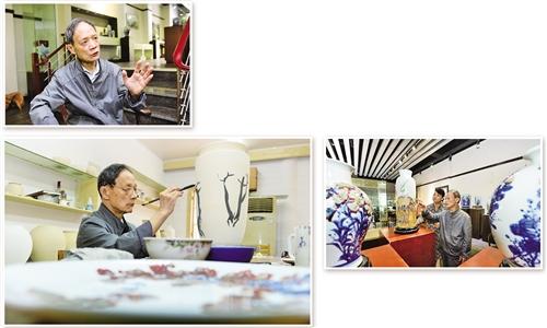 景德镇粉瓷工艺传承