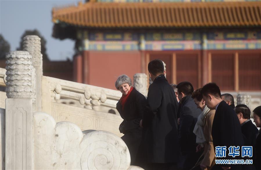(XHDW)(2)英国首相特雷莎・梅参观故宫