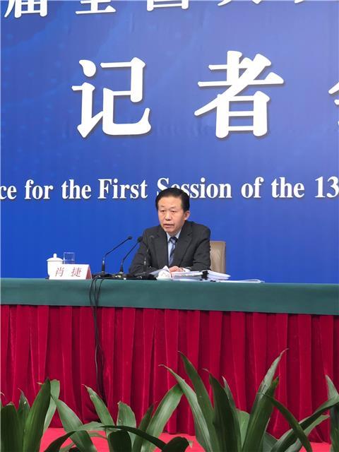 财政部部长肖捷:今年从三方面推进万亿元减税降费