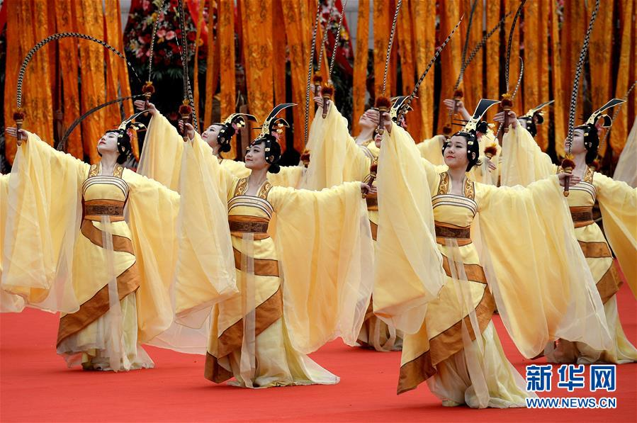 pc蛋蛋近三期的算法:陕西举行戊戌年清明公祭轩辕黄帝典礼
