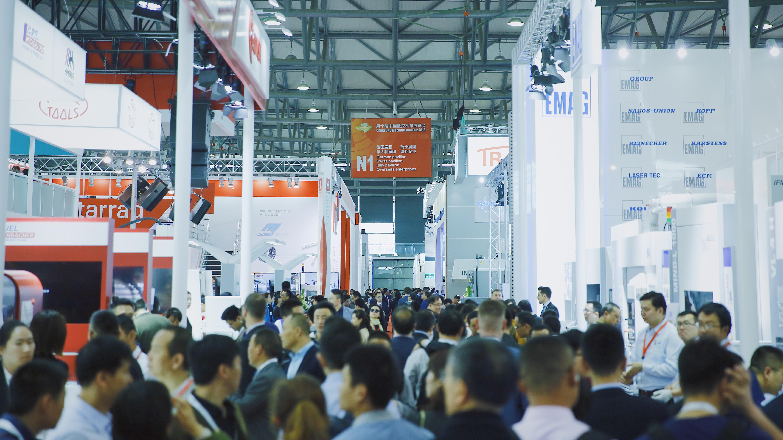 伯乐彩票网:第十届中国数控机床展览会在上海开幕